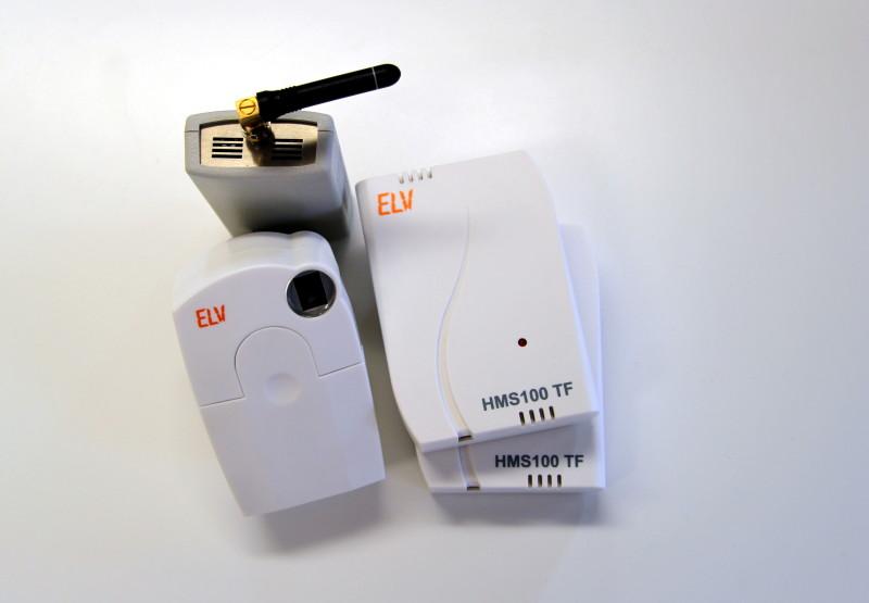 Einige FS20 Aktoren und Sensoren für die Heimautomation