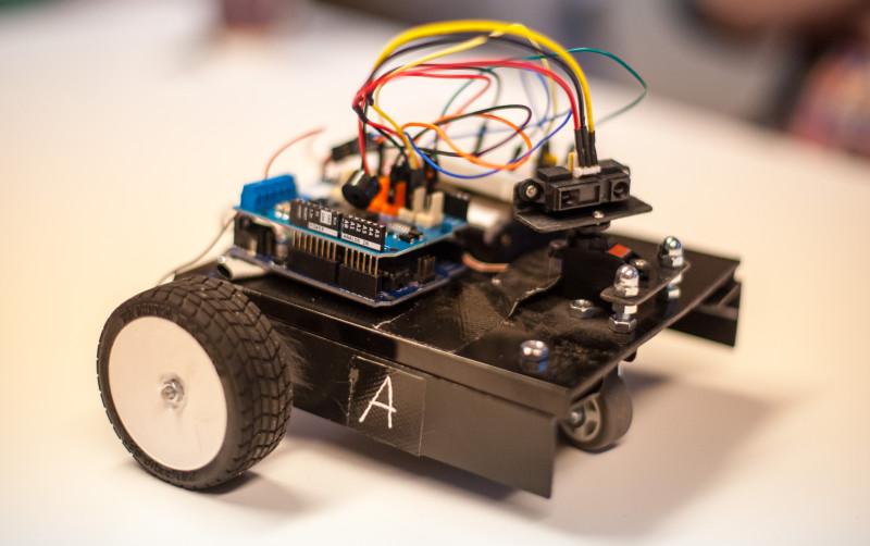 Ein Arduino basierender Roboter