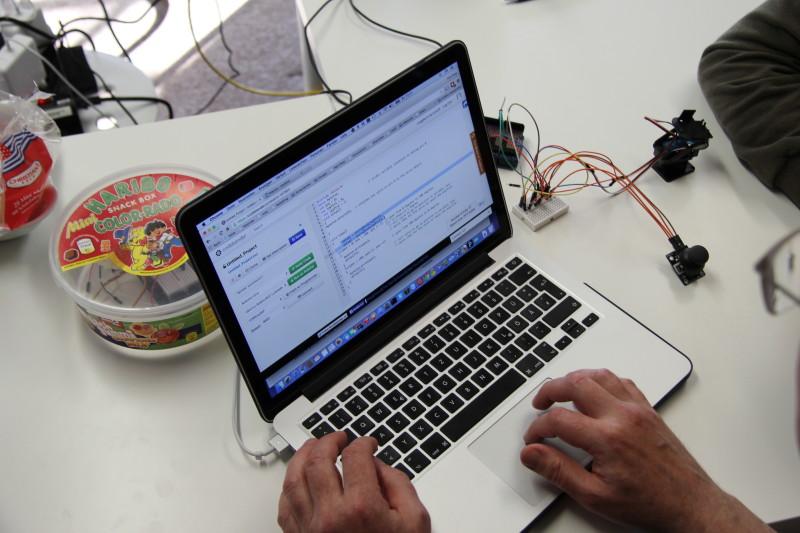 Eine Arduino-Installation wird entwickelt