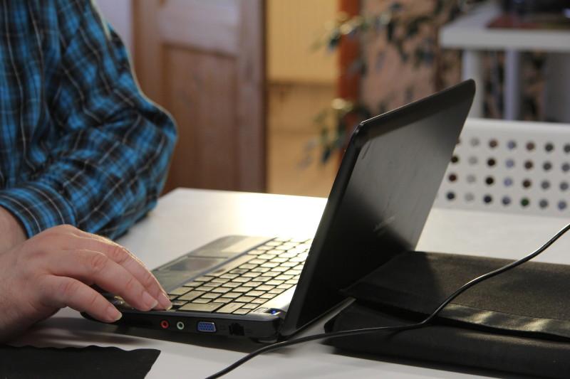 Die Fachgruppe Blogging bei der Arbeit
