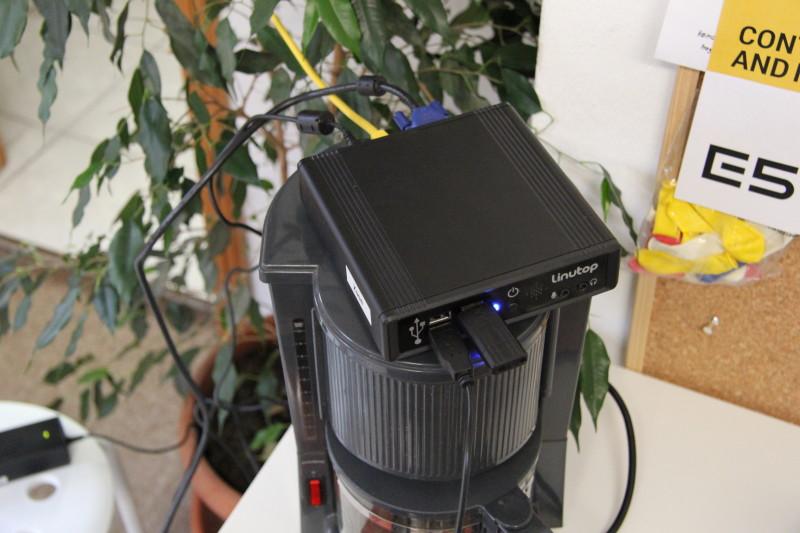 FHEM wird auf einem Linutop installiert