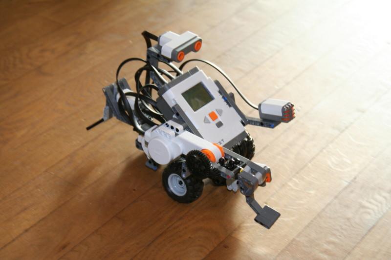 Ein LEGO Mindstorms Roboter (CC-BY, Eirik Refsdal)