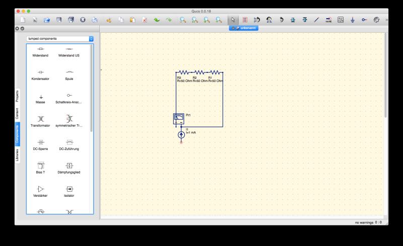 Das freie Qucs unterstützt ebenfalls die Simulation mittels SPICE