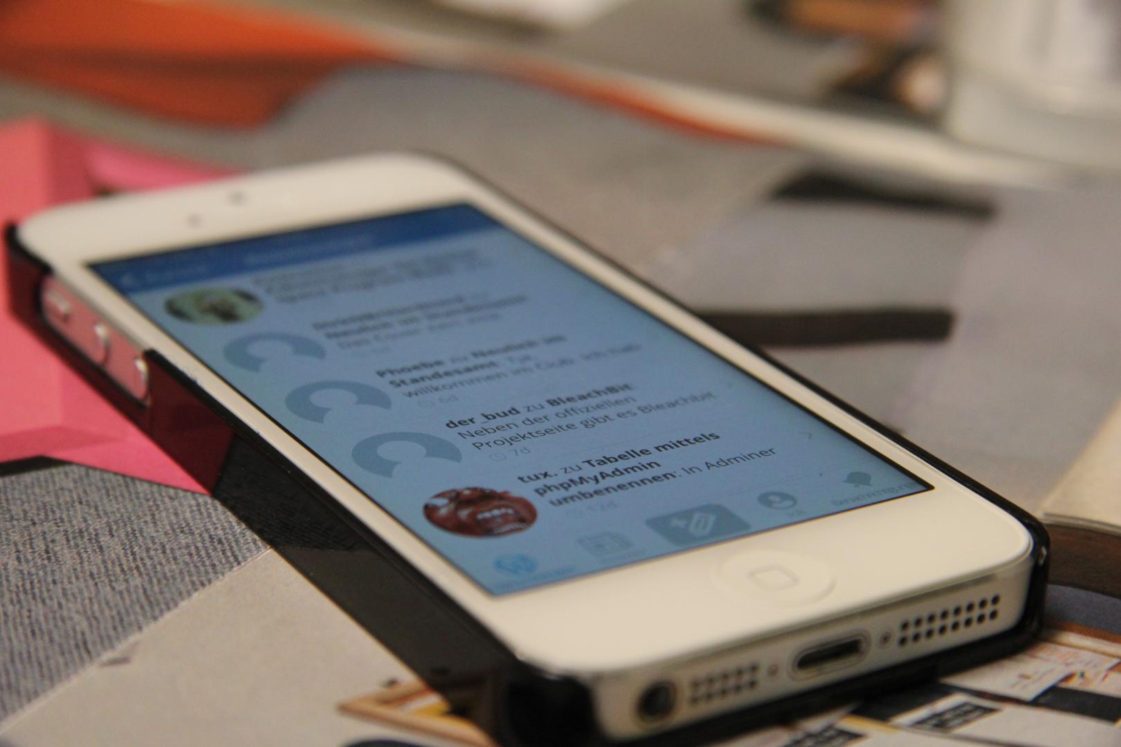 Die WordPress App unter iOS