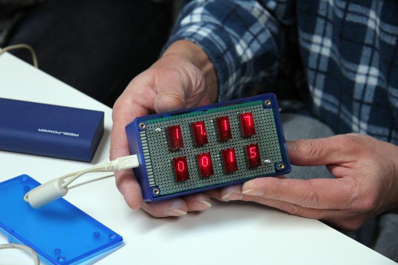 Die Sensorbox wird vorgestellt