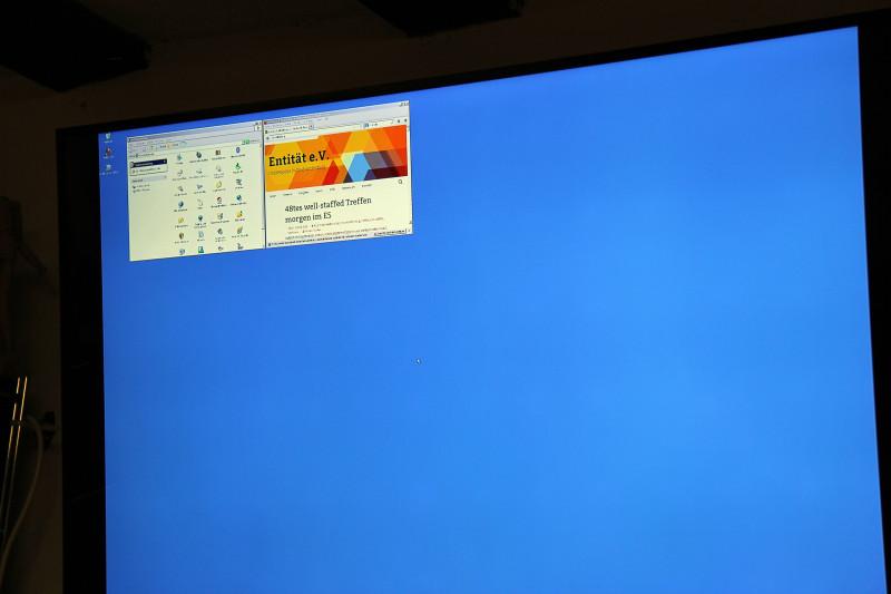 Hohe Auflösungen und Betriebssysteme waren eines der Themen